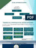CAPACITACIÓN PRESIDENCIAS DE QUÓRUM DE ÉLDERES 2019 ACTUALIZADA 2020