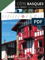 Guide des Hôtels 2011 en Terre et Côte Basques