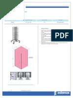 Edenox Plate Rack CPP-100