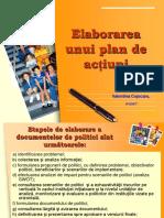 5-Elaborarea unui plan de acţiuni, ca exemplu de politică publică