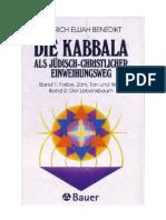 Benedikt, Heinrich Elijah - Die Kabbala als juedisch-christlicher Einweihungsweg
