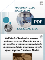 INTRODUCCION A LOS PROCESOS DE FRESADO CNC