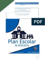 PLAN ESCOLAR DE RESPUESTA 2019