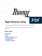 Wget_Windows_Guide