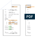 TFA calc Formulas