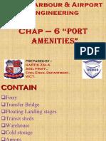 CHAPTER - 6. PORT AMENITIES