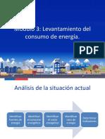 Módulo 3 - Levantamiento del consumo de energía