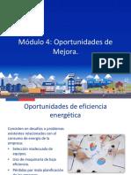 Módulo 4 - Identificando oportunidades de mejoras