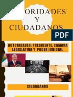 AUTORIDADES Y CIUDADANOS