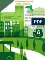 Experiencia empresarial verde e inclusiva