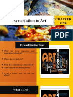 1. Orientation Art