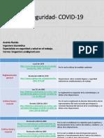 Bioseguridad- COVID-19