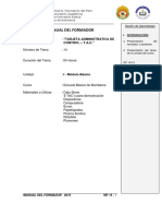 TEMA 14 - TARJETAS DE ADMINISTRACIÓN Y CONTROL - TAC - MF
