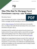Ann Woolner - Bloomberg