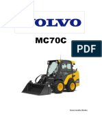 MC70C-ELETRICO Volvo Minicarregadeira.
