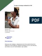 11-01-11 - Xiomara Caro - Rostro de Mujer en La Huelga Estudiantil de La UPR