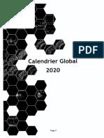 CATALOGUE DE FORMATION SMA 2020