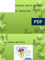 14.LOS CLIMAS DEL PERU