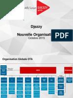 -Djezzy- nouvelle Organisation