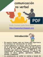 Comunicación no verbal- Actividades