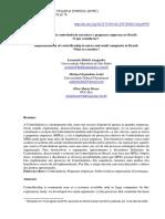 Implantação da Controladoria em micro e pequenas empresas no Brasil
