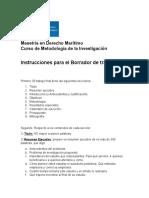 104 Instrucciones para Trabajo Final