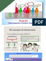 3.- Participación Política Ciudadana