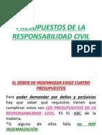 3.PRESUPUESTOS DE LA RESPONSABILIDAD CIVIL