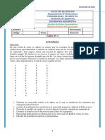 2-Taller Nº  1 - (PyE)-Variable Cuantitativa-Datos No Agrupados-Vacacional-1-2020