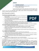 Banque mondiale cherche Ast Prog à Dakar.pdf
