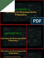 Tercero Aritmetica clase 2