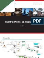 Ing. Marcial Medina - Hudbay - Recuperaciòn de Molibdeno