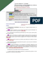 Ação de Alimentos (Lei 5478) - Belizario