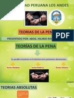 CLASE TEORIAS DE LA PENA
