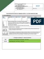 Tareas N.- 12 Primero de Bachillerato 2019 2020 COVID19