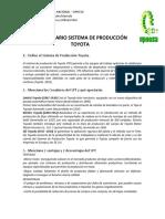 Procesos - Cuestionario de Sistema de Produccion Toyota