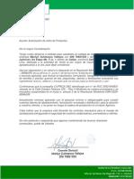 Carta Modelo Atencion 23