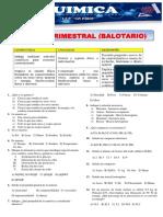 TRIMESTRAL- BALOTARIO