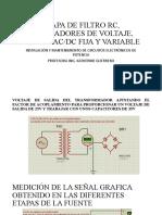 REGULADORES DE VOLTAJE Y FUENTE AC DC