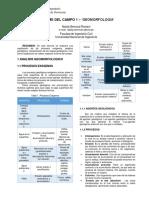 Informe geología aplicada