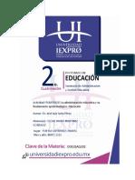 administracion educativa y su fundamento epistemologico