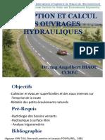 Conception et Calcul des Ouvrages Hydrauliques_14_06_15