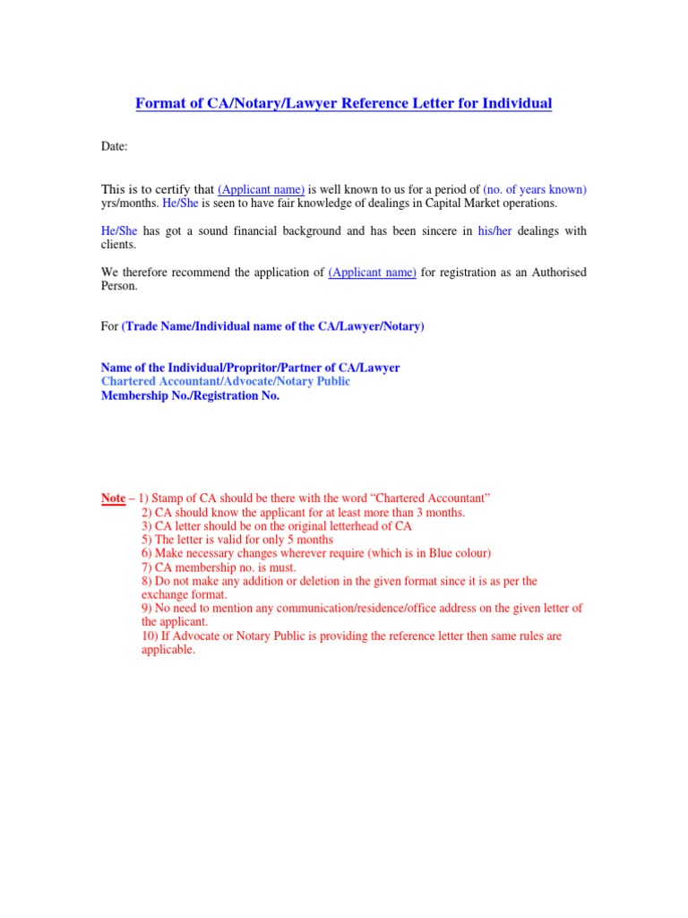 notary letter