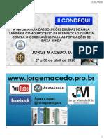 CONDEQUI II  PALESTRA  JORGE MACEDO 1