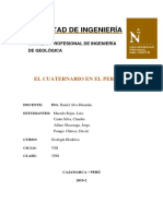 SEMANA 14_Informe Del Cuaternario