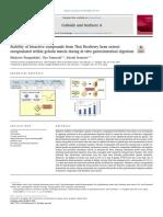 Estabilidad de compuestos bioactivos