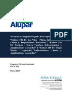 PTE N° G13 ALUPAR