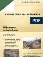 PASIVOS AMBIENTALES EN MINERÍA -ASTO