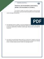 II TAREA ACADÉMICA ING  ECON 2019-II