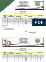 ENROLMENT AS OF JUNE 19, 2020 - JUNE 26, 2020